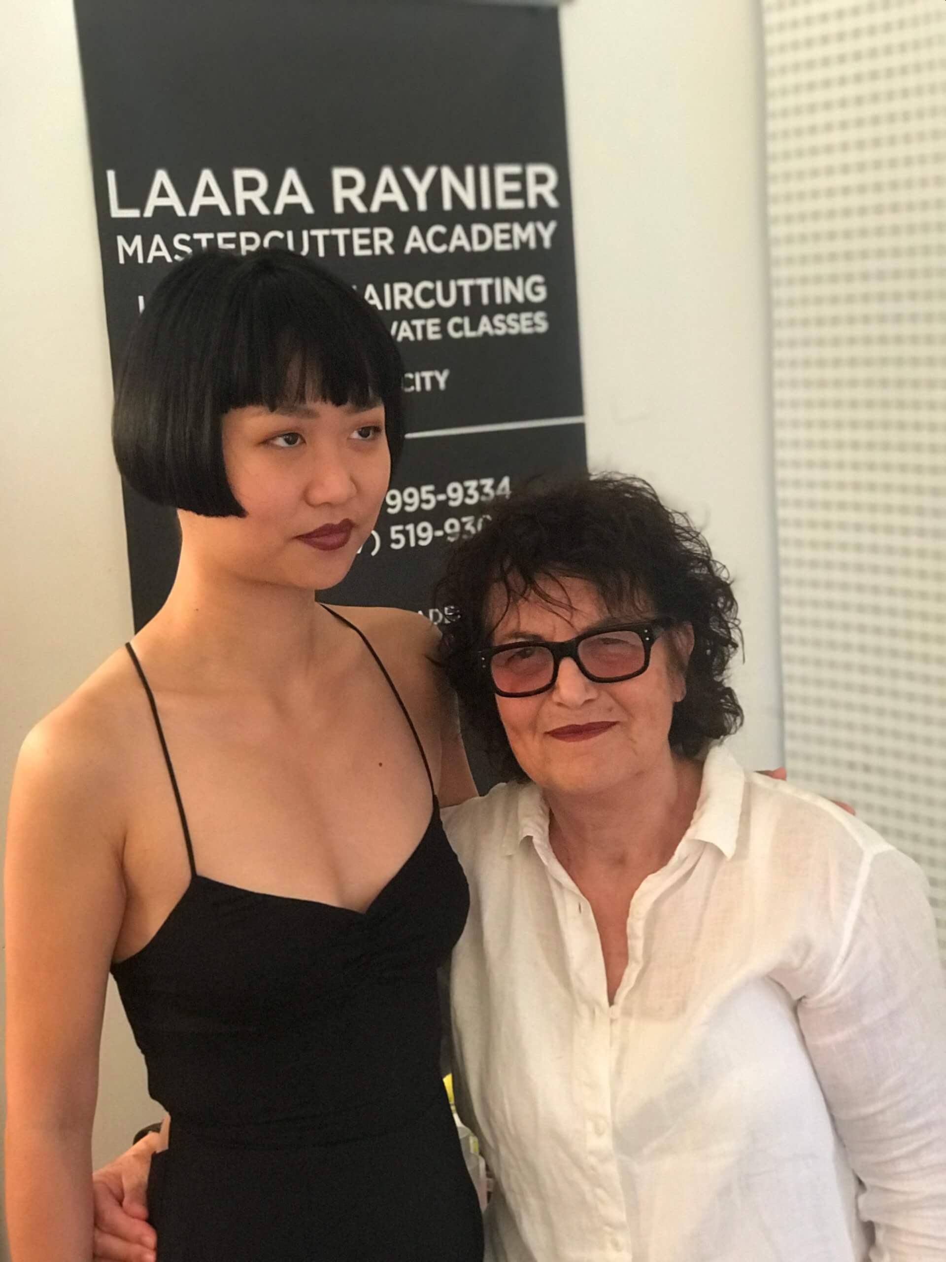 Layered Bob - Hair Cutting Workshop - Laara Raynier