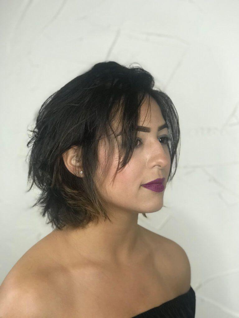 Trendy Layered Bob Haircut 2020 by Laara Raynier